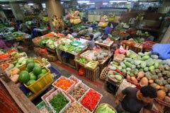 Pasar Badung in Bali Indonesia. Market scene in Pasar Badung Bali Indonesia stock photos