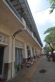 Одна угловая лоточница плодоовощ глохнет вокруг Pasar Gede Surakarta Стоковое Изображение RF