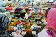 Pasar Kedai Payang Lizenzfreies Stockbild