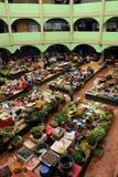 Pasar Siti Khadijah (Kota Bharu Central Market), Kelantan, Malásia Fotos de Stock