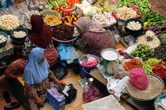 Pasar Siti Khadijah (Kota Bharu Central Market), Kelantan, Malásia Imagens de Stock Royalty Free