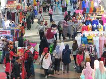 Pasar Tanah Abang, Jakarta Arkivbild