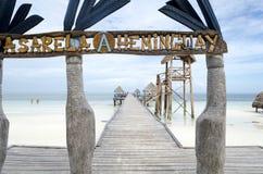 Pasarela Hemingway dock Stock Photo