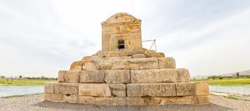Pasargad伟大的赛勒斯坟茔 库存图片