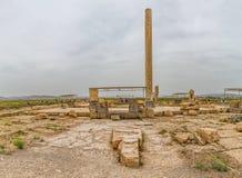 Pasargad考古学站点 免版税库存图片