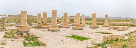 Pasargad考古学站点 库存照片