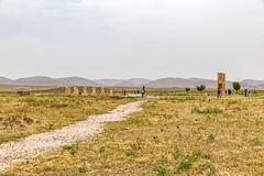 Pasargad archaeological site Stock Image