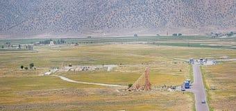Pasargad archeologiczny miejsce Zdjęcia Royalty Free
