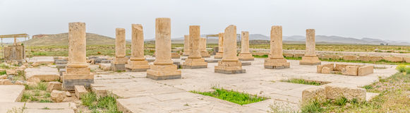 Pasargad archeologiczny miejsce Fotografia Royalty Free