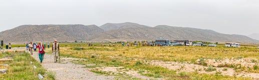 Pasargad arkeologisk plats Fotografering för Bildbyråer