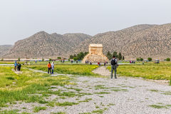 Pasargad Cyrus gravvalv Royaltyfria Bilder