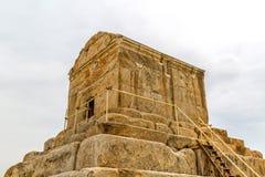 Pasargad Cyrus Wielki grobowiec Obrazy Stock