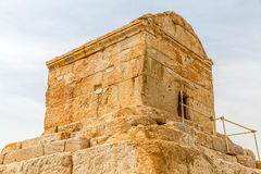 Pasargad Cyrus Wielki grobowiec Zdjęcie Stock