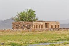 Pasargad Mozaffarid caravansarai Zdjęcia Royalty Free