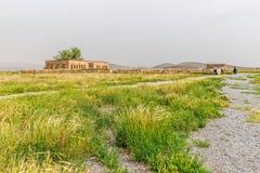 Pasargad Mozaffarid caravansarai 免版税图库摄影