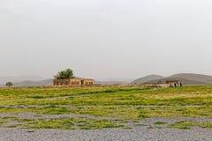 Pasargad Mozaffarid caravansarai Arkivfoto