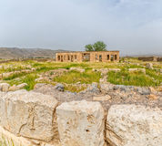 Pasargad Mozaffarid caravansarai Royaltyfria Bilder
