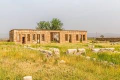 Pasargad Mozaffarid caravansarai Royaltyfri Foto