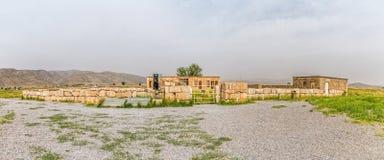 Pasargad Mozaffarid caravansarai 免版税库存图片