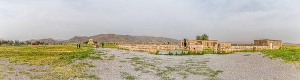 Pasargad panoramautsikt Royaltyfri Fotografi