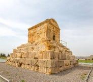 Pasargad stor Cyrus gravvalv Arkivfoto