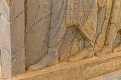 Pasargadae relief remains Stock Images