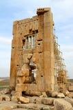 Pasargade: tomba di Cambyses I immagine stock libera da diritti