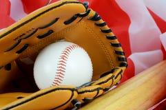 Pasatiempo americano del béisbol imagen de archivo libre de regalías