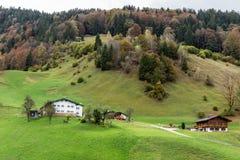Pascolo della montagna di Berchtesgaden Fotografie Stock