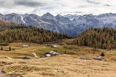 Pascolo della montagna di Berchtesgaden Fotografia Stock