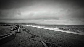 Pascolo di Slapton Spiaggia, StartBay Devon Regno Unito Immagine Stock Libera da Diritti