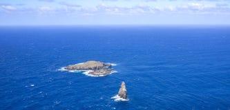 Pascua小的海岛  库存图片