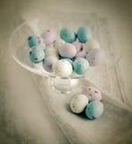 Pascua adornó los huevos Foto de archivo libre de regalías