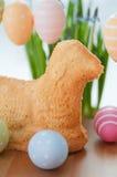 Pascua Bunny Cake Fotografía de archivo