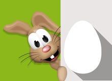 Pascua Bunny Easter Egg Time Fotos de archivo
