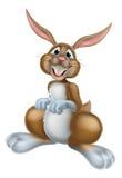 Pascua Bunny Rabbit Cartoon Imagenes de archivo