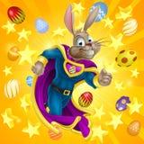 Pascua Bunny Superhero Fotos de archivo libres de regalías
