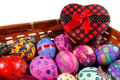 Pascua colorida Paschal Eggs Celebration Fotografía de archivo