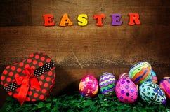 Pascua colorida Paschal Eggs Celebration imagen de archivo libre de regalías