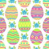 Pascua eggs-09 ilustración del vector