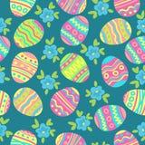 Pascua eggs-10 stock de ilustración
