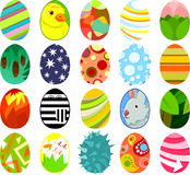 Pascua eggs03 Foto de archivo libre de regalías