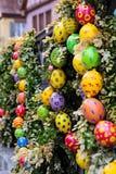 Pascua en ciudad europea Fotografía de archivo libre de regalías