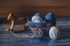 Pascua en estilo rústico Fotos de archivo