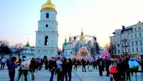Pascua en Kiev, Ucrania metrajes
