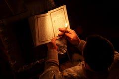 Pascua en la iglesia ortodoxa Imágenes de archivo libres de regalías