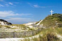Pascua en la playa Fotos de archivo libres de regalías