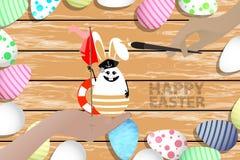 Pascua es un ejemplo perfecto para su diseño stock de ilustración