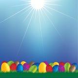 Pascua feliz 1 Foto de archivo