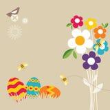 Pascua feliz stock de ilustración